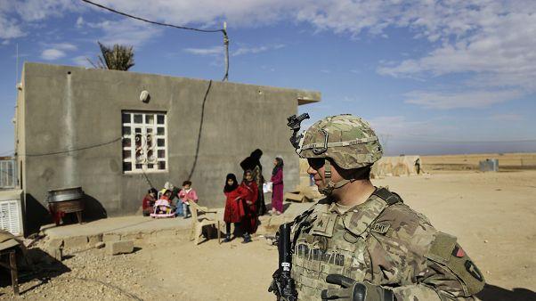 صورة لجندي أمريكي في العراق