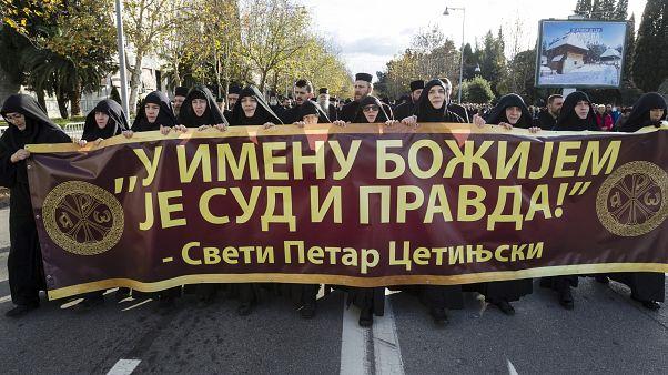 Μαυροβούνιο: Νέες διαδηλώσεις κατά του νόμου για την εκκλησιαστική περιουσία