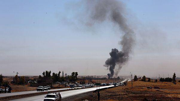 العراق: مقتل أمريكي وعدة إصابات في هجوم صاروخي بكركوك