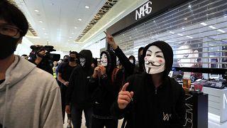 Διαδήλωση και επεισόδια σε εμπορικό κέντρο