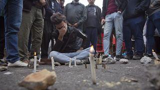 Estudantes iraquianos protestam contra classe política