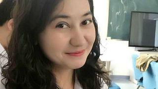 Doğu Türkistanlı Şincan tıp fakültesi yüksek lisans öğrencisi Aygül Ablet