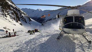 Avalanchas provocam pelo menos quatro mortos em Itália
