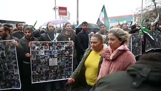 Istanbul: Proteste gegen Angriffe in Idlib