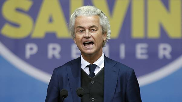 Geert Wilders, leader of Dutch Party for Freedom