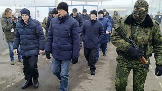 آغاز تبادل اسرا میان ارتش و جداییطلبان اوکراین