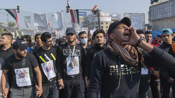 تجدد الاحتجاجات في العراق والإنتاج ما زال متوقفا في حقل الناصرية النفطي
