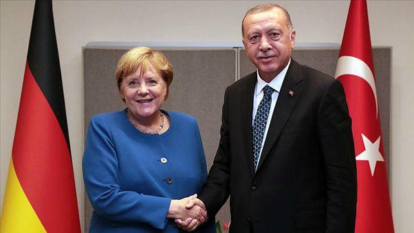 Almanya Başbakanı Angela Merkel / Cumhurbaşkanı Recep Tayyip Erdoğan