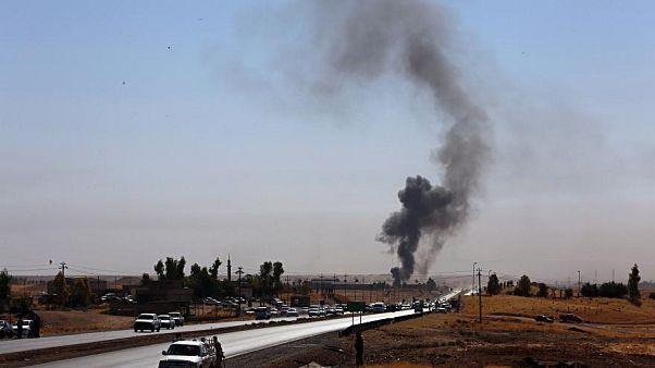 أربعة صواريخ تستهدف قاعدة تضم أمريكيين قرب العاصمة العراقية بغداد