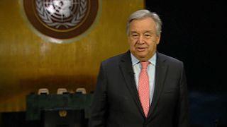"Ano Novo: Guterres pede ""empenho ativo"" aos jovens pelo Planeta"