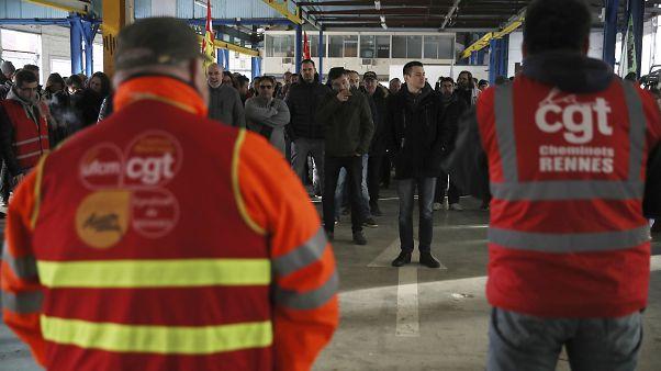 Франция: новогодние праздники на фоне забастовки
