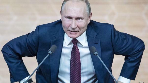 الرئيس الروسي فلادميير بوتين