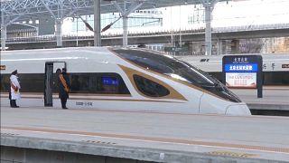 القطار الذكي فائق السرعة الجديد الذي أطلقته الصين يوم 30 ديسمبر 2019