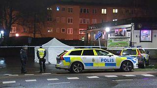 Göteborg: Vor Pizzeria erschossen