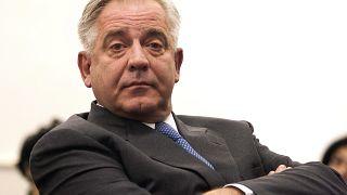 Ivo Sanader volt horvát miniszterelnök a tárgyalásán