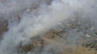 Avustralya'daki orman yangınları nedeniyle on binlerce kişi tahliye edildi