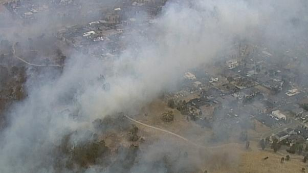 Incêndios incontroláveis na Austrália
