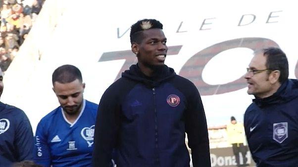 Погба организовал благотворительный матч для Гвинеи
