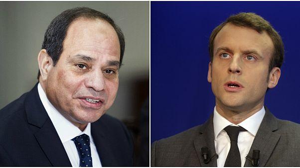 """ماكرون والسيسي يدعوان الى """"أكبر قدر من ضبط النفس"""" في ليبيا (الاليزيه)"""