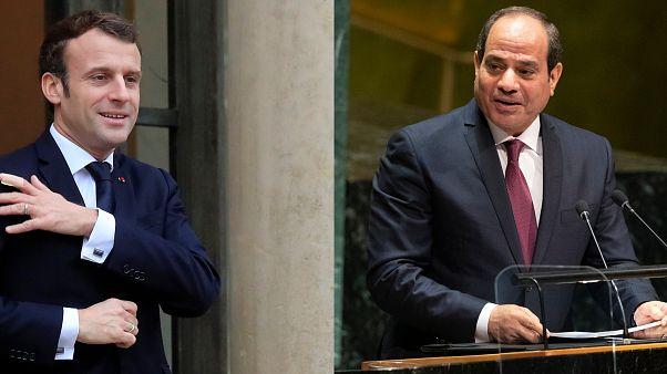 Macron ve Sisi Türkiye'nin Libya ile yaptığı mutabakatı görüştü: Anlaşma deniz hukukuna aykırı
