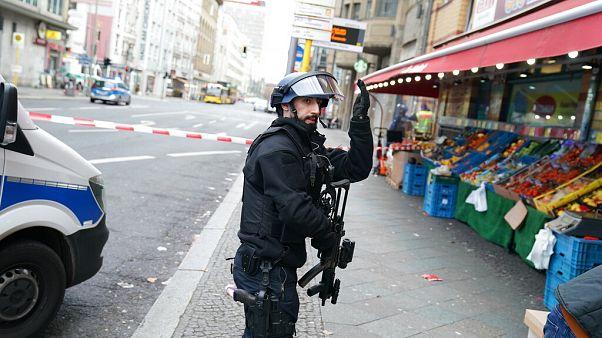 Nahe des Checkpoint Charlie kam es am Montag zu einem Großeinsatz.
