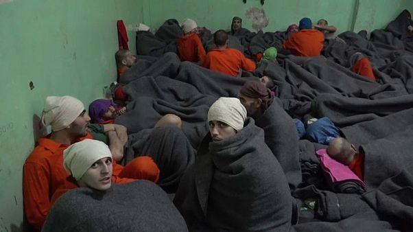 Yihadistas europeos en las cárceles kurdas