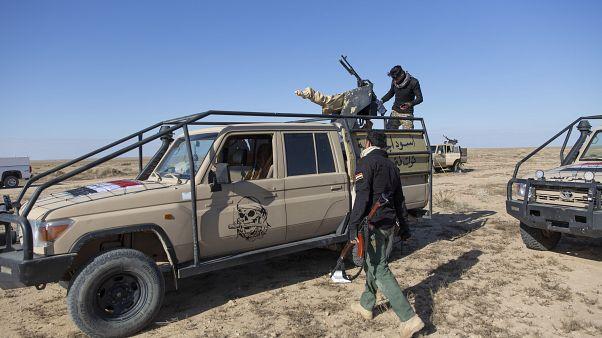 Hizbullah Tugayları örgütünü de bünyesinde barındıran Haşdi Şabi savaşçıları
