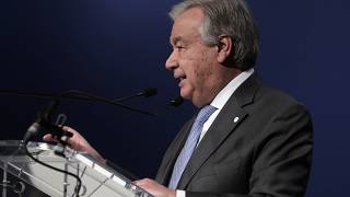 'Keep up the pressure,' says UN Secretary General Antonio Guterres in New Year message