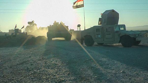 Kifüstölik a hegyekből az Iszlám Állam terroristáit Irakban
