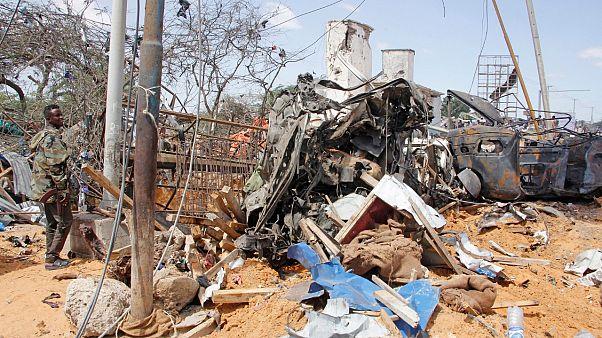 Somali'nin başkenti Mogadişu'da düzenlenen bombalı saldırı