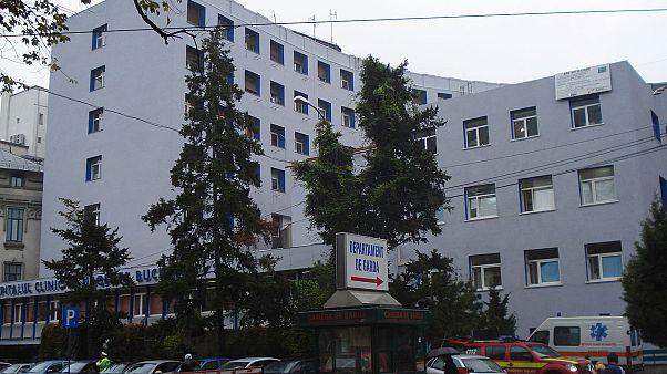 Floreasca Emergency Hospital, Bucharest, Romania.