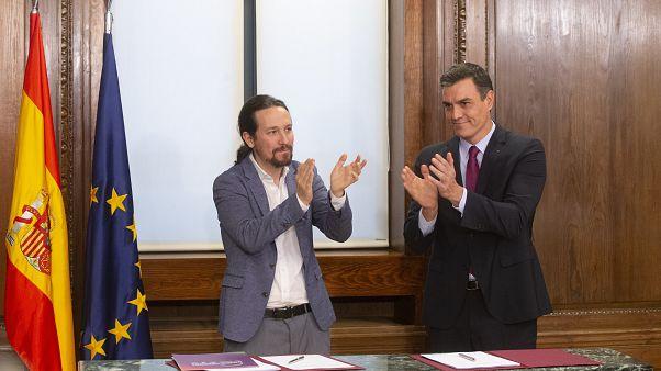 PSOE e Unidas Podemos fazem acordo de governo