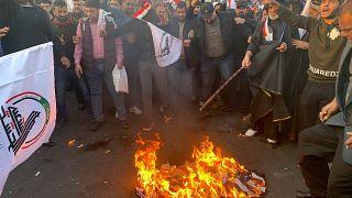 عراق در پی حمله به مواضع کتائب حزبالله تهدید کرد روابط با آمریکا را بازنگری میکند