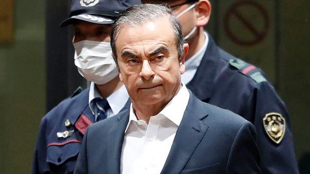 Carlos Ghosn la prison à Tokyo le 25 avril 2019