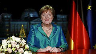 Merkel zu 2020: Mut zu neuem Denken und Kampf gegen Klimawandel