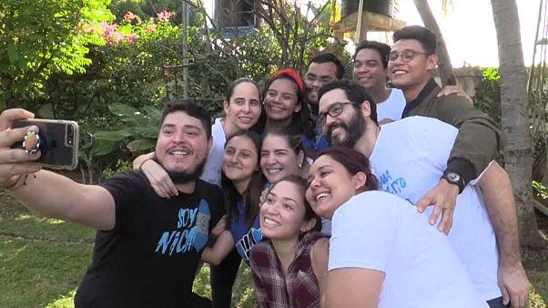 Nicaragua: excarcelan a 91 disidentes, entre ellos, la 'banda de los aguadores'
