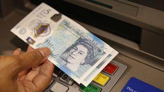5 pound banknot