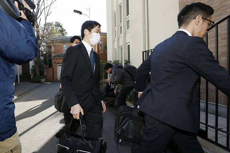 Yuki Sato/Kyodo News via AP