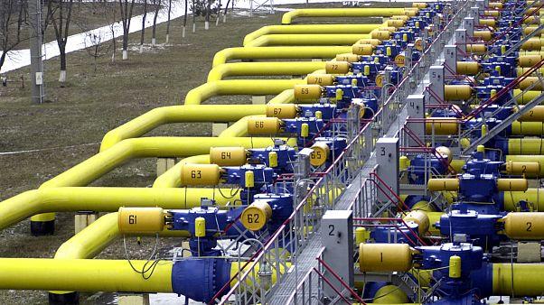خطوط انتقال گاز روسیه به اروپا از طریق اوکراین