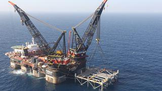 İsrail Doğu Akdeniz'de doğal gaz çıkarmaya başladı