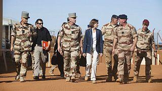وزیر نیروهای مسلح فرانسه شب سال نوی میلادی را در خلیج فارس میگذراند