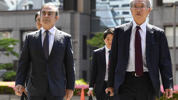 Carlos Ghosn et Junichiro Hironaka, son principal avocat
