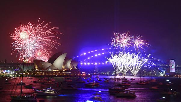 Image result for images of Australia Celebrates 2020 With Fireworks