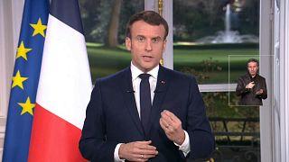 Macron defende reforma das pensões na mensagem de Ano Novo