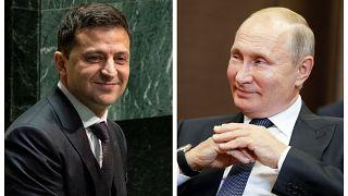 Лидеры России и Украины впервые с 2014 поздравили друг друга с Новым годом