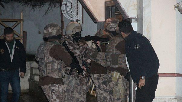 Ankara'da yılbaşında eylem hazırlığında olduğundan şüphelenilen 5 yabancı uyruklu yakalandı