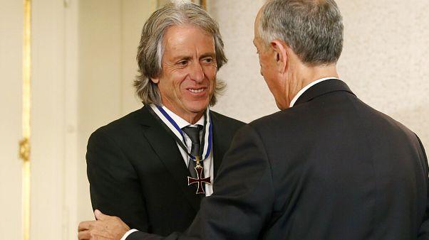 Le président Marcelo Rebelo de Sousa décore Jorge Jesus