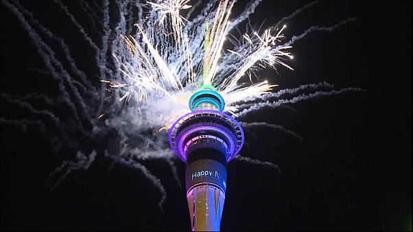 New Zealand says goodbye to 2019 with huge fireworks display