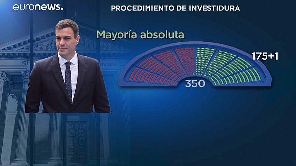 Esprint político para una rápida investidura de Pedro Sánchez como Presidente del Gobierno en España