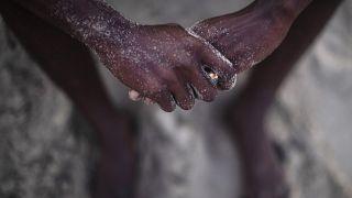Libya üzerinden Avrupa'ya ulaşmaya çalışan Sudanlı göçmen Abdullah Süleyman